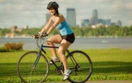 Biking in the Rivercity.