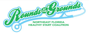 """Rounds at the Grounds"" fundraiser for raising awareness of infant mortality in northeast Florida."