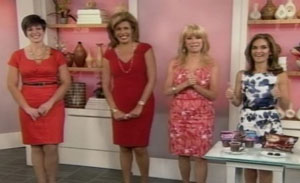 April appearing on the Today TV show.