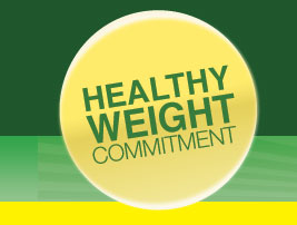 Healthy Weight Commitment Foundation logo.