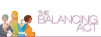 Logo for The Balancing Act TV show.