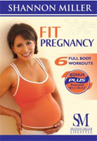 Fit Pregnancy DVD Cover.