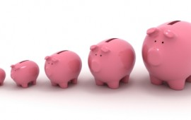 Piggy banks - grow your savings.