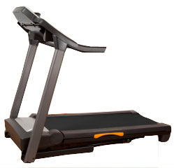 Treadmill for walking exercise.