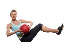 Ab exercize - seated torso rotation