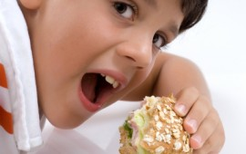 Diabetic child prepares for athletic activity