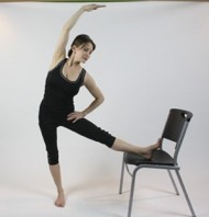 Ballerina Chair Stretch