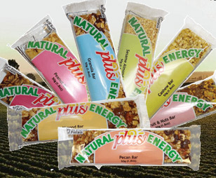 Health plus Energy bars