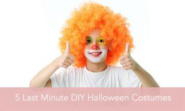 Last Minute DIY Halloween Costumes