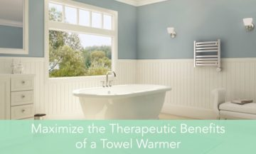 Therapeutic Benefits of a Towel Warmer